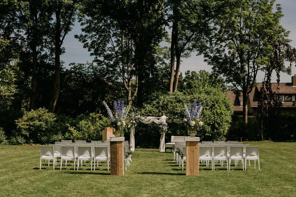 ceremonie buiten