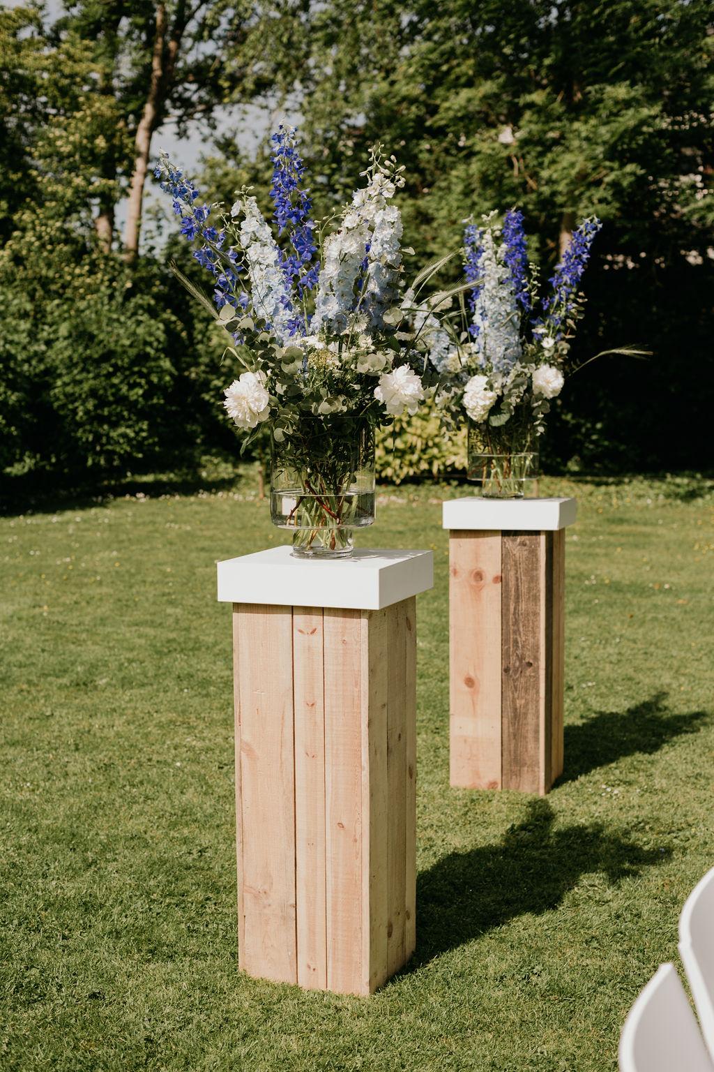 bloemstukken bruiloft