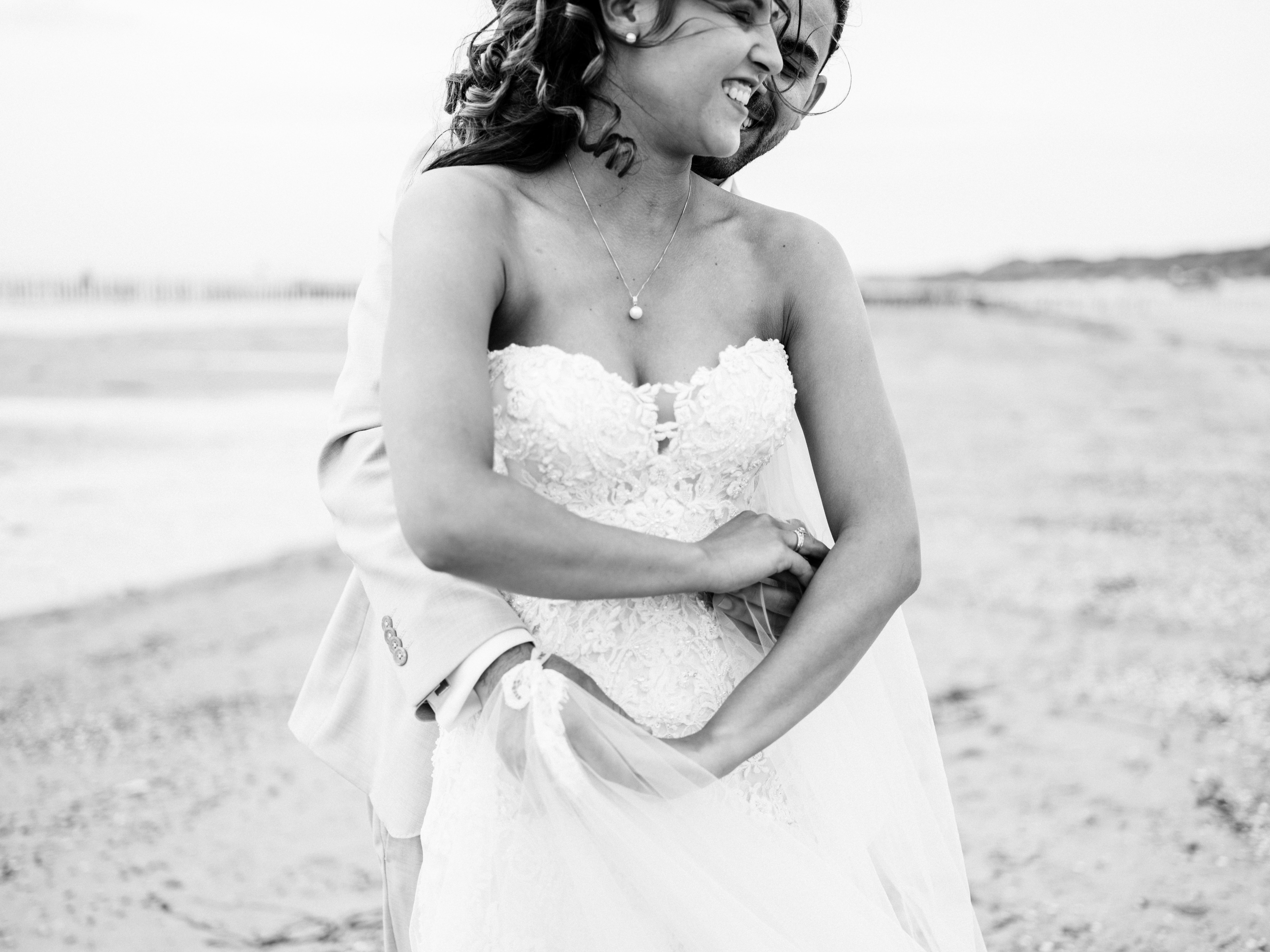 bruidspaar verliefd